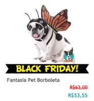 Fantasia Pet Borboleta