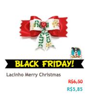 Lacinho Merry Christmas