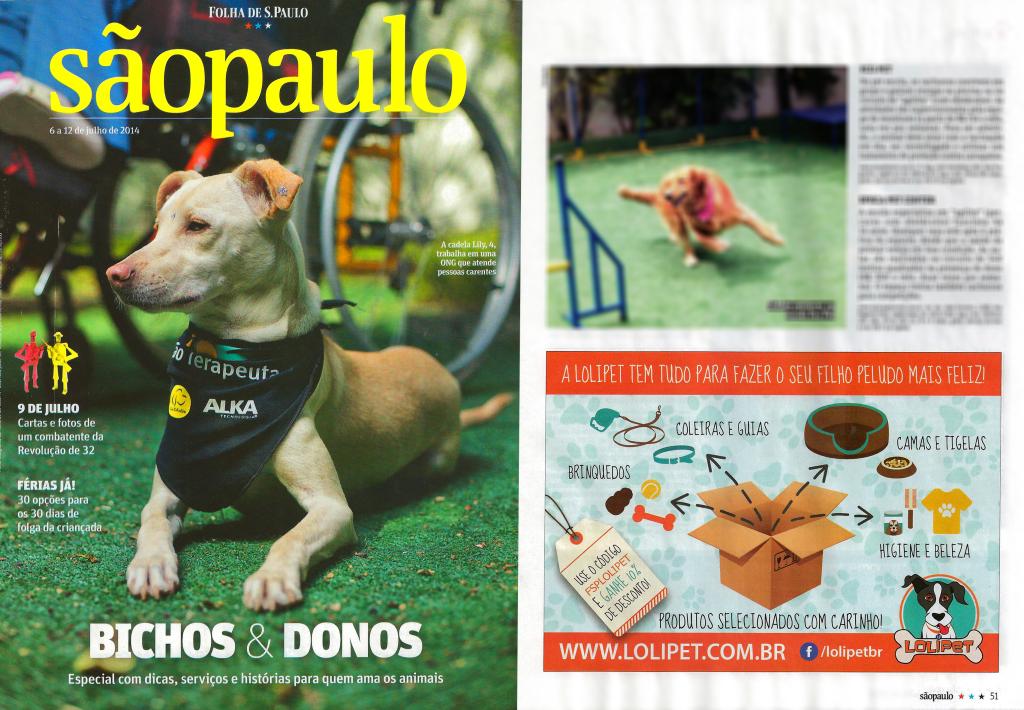 Anúncio Revista Folha de São Paulo