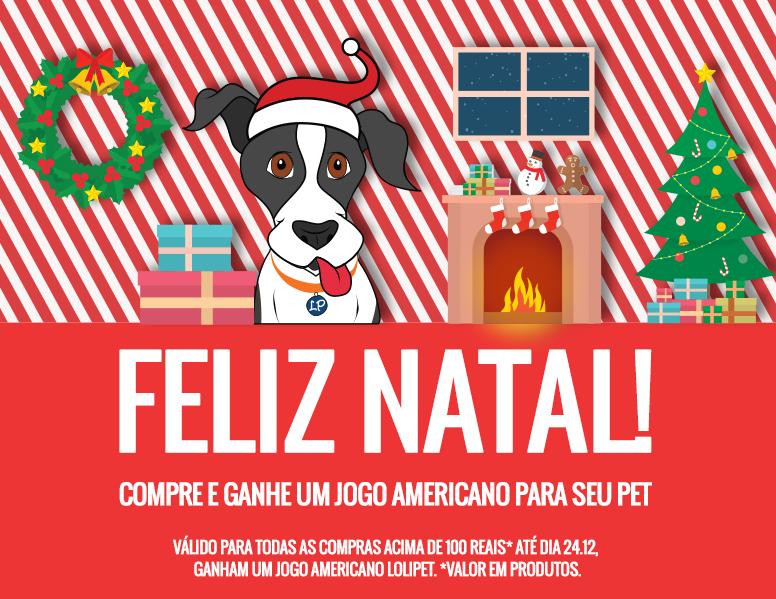 A Lolipet deseja à todos um Feliz Natal!