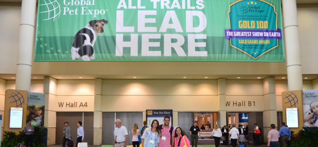 Feira Global Pet Expo em Orlando