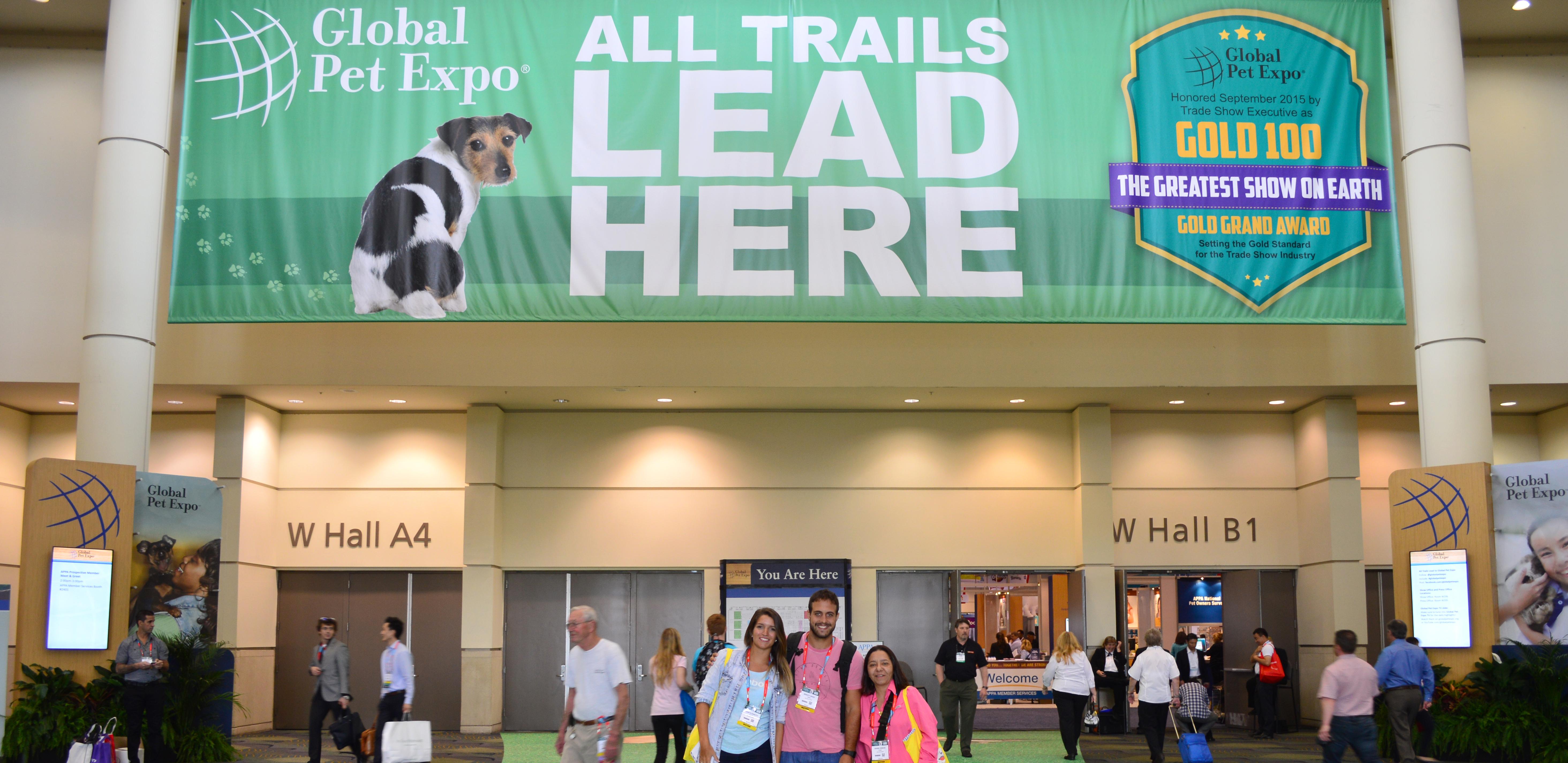 Lolipet visita feira Global Pet Expo em Orlando!