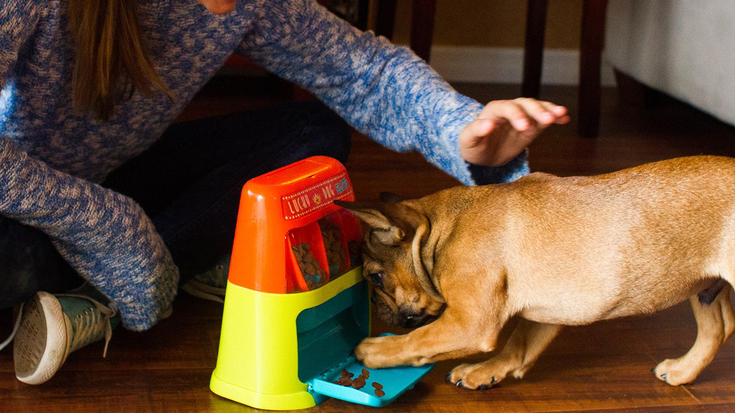 Jogo Caca-Niqueis Lucky Dog