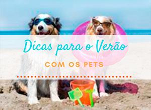 Baixe o e-book: Dicas de Verão para os Pets!