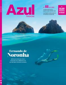 Capa da Revista Azul Magazine edição de outubro que a Lolipet participou!