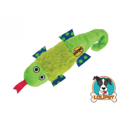 Brinquedo Petstages Petite Stuffing Free Salamandra para Cães (sem recheio)