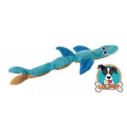 Brinquedo de Pelúcia para Cachorro Stuffing Free Tubarão Floppy Shark - Petstages
