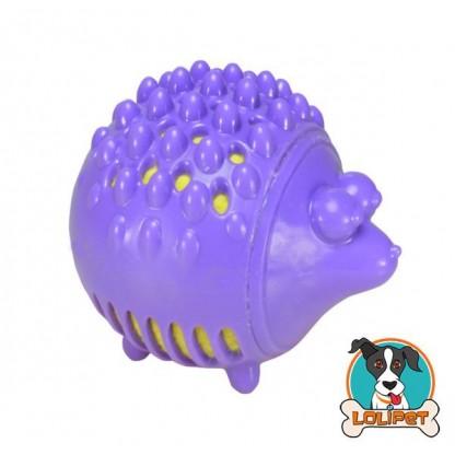 Brinquedo Petstages de Boracha e Pelúcia para Cães Gummy Plush Porco Espinho