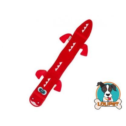 Brinquedo Ultrarresistente para Cães Invincibles® Fire Biterz Dragão Vermelho 3sqk
