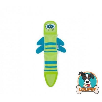 Brinquedo Ultrarresistente para Cães Invincibles®Fire Biterz Vagalume Verde