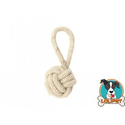 Brinquedo de Corda Bola com Alça para Cães