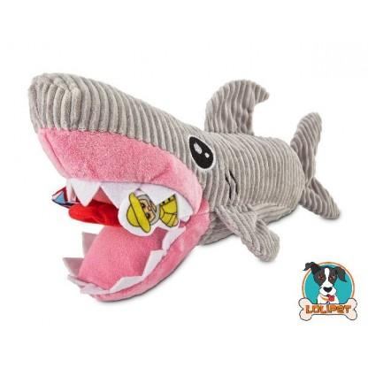 Brinquedo para Cachorro Tubarão de Pelúcia