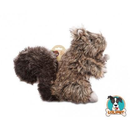 Brinquedo para Cães Vida Selvagem Esquilo de Pelúcia