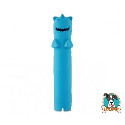 Brinquedo para Cachorro de Borracha Recheável Unicórnio Stick