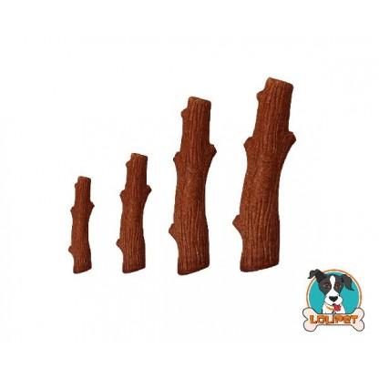Brinquedo para Cães Bastão de Madeira Dogwood Mesquite Sabor Churrasco Petstages
