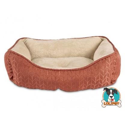 Cama para Cães e Gatos Ferrugem P