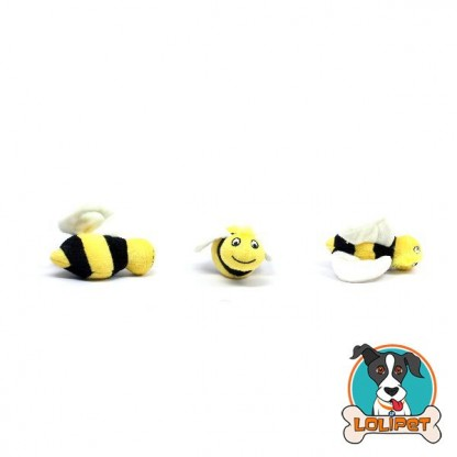 Brinquedo Bichinho Abelhinha 3pk