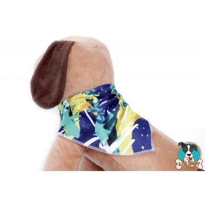 Bandana com Estampa da Bandeira do Brasil para Cães e Gatos
