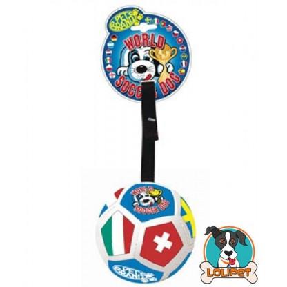 Brinquedo Bola Copa do Mundo para Cães
