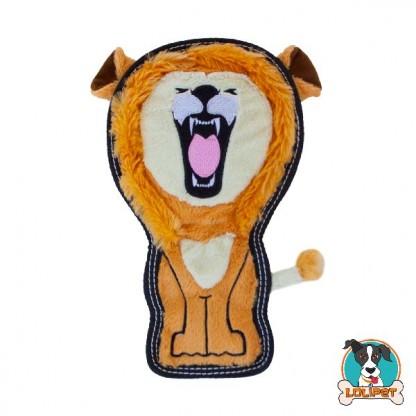 Brinquedo Resistente para Cães Invincibles® Tough Seamz Leão
