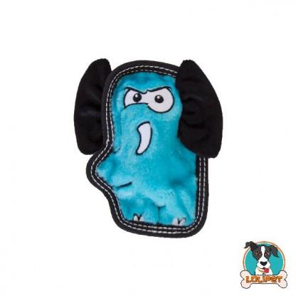 Brinquedo Resistente para Cães Invincibles® Tough Seamz Mini Elefante