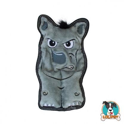 Brinquedo Resistente para Cães Invincibles® Tough Seamz Rino