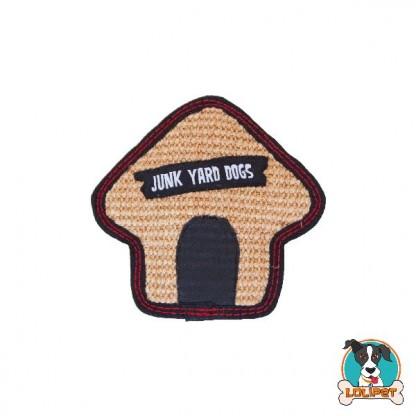 Brinquedo Ultrarresistente para Cães Invincibles® Tough Seamz Sisal Casinha de Cachorro Mini