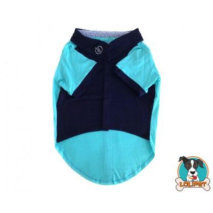 Camisa Polo Azul 2
