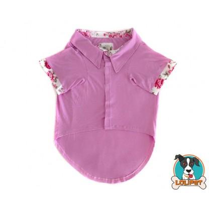 Camisa Polo Rosa 2