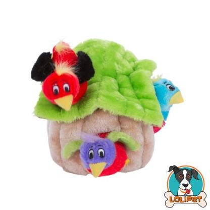 Brinquedo Casa de Passarinho Hide-a-Bird para Cães Kyjen/Outward Hound