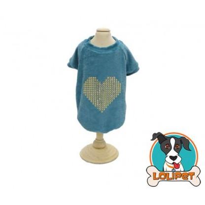 Casaco Plush Coração 1