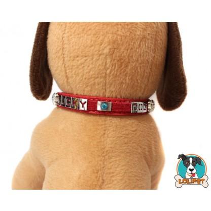 Coleira Glitter Lucky Dog 4