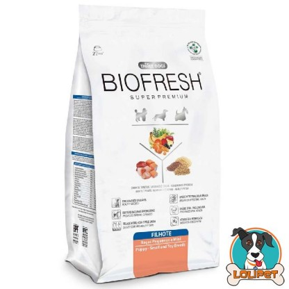 Ração Biofresh para Cães Filhotes Raças Pequenas/Mini