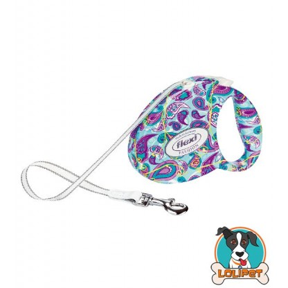 Guia Retrátil Flexi Fashion Ladies Pasley 1