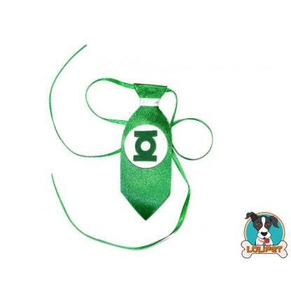 Gravata Lanterna Verde
