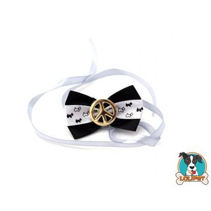 Gravata Borboleta De Cetim Estampado 4