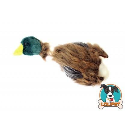 Brinquedo Pato de Pelúcia com Corda para Cães