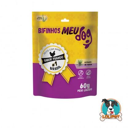 Petisco Bifinho Meu Dog - Frango - 60grs