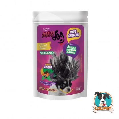 Petisco Vegano Meu Dog Energy Açai - 60grs