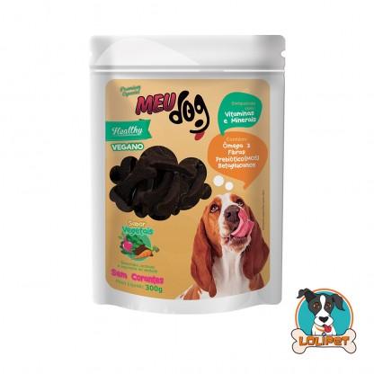 Petisco Vegano Meu Dog Healthy Vegetais - 300grs