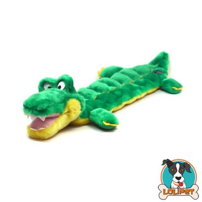 Brinquedo Mega Squeaker Jacaré Grande para Cães