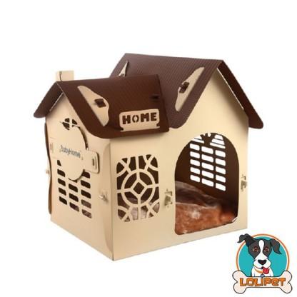 Casinha com Chaminé para Cães Baby Home