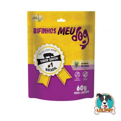 Petisco Bifinho Meu Dog - Bacon - 60grs