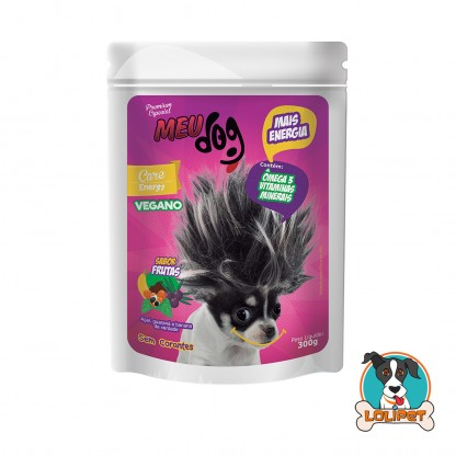 Petisco Vegano Meu Dog Energy Açai - 300grs