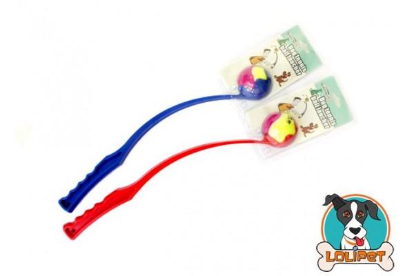 Brinquedo Lançador de Bolinha com Bola de Tênis para Cães - Lolipet 4ceeced09a825