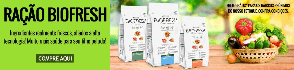 Ração SUPER PREMIUM Biofresh para Cães