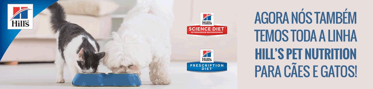 Rações Secas e Úmidas Hill's Pet Nutrition para Cães e Gatos